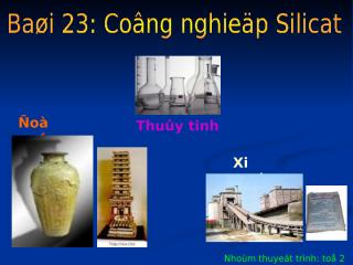 Cong nghiep silicat.ppt