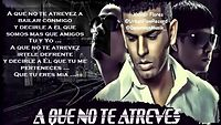 Tito El Bambino Ft. Chencho Plan B - A Que No Te Atreves (Letra) New 2014.mp4