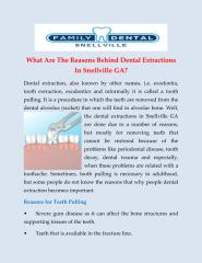 Dental Extractions in Snellville GA.pdf