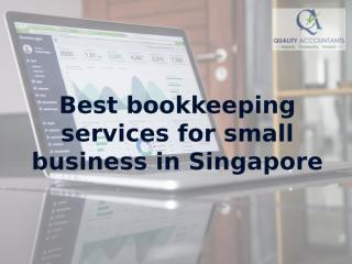Best bookkeeping services for small business in Singapore.pptx