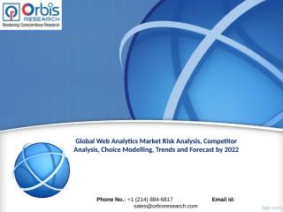 Global Web Analytics Market Worth $4.9 Billion by 2022.ppt