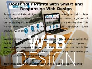 Boost Your Profits with Smart and Responsive Web Design.pptx