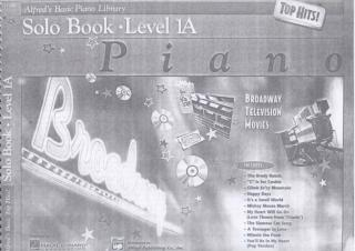 Alfred's - Basic Piano Library - Top Hits! Solo Book - Level 1A.pdf