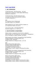 169 Lagu Batak.docx