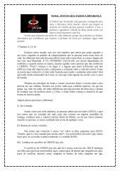 20100512 - Estudo de Células - Jovens que fazem a diferença.doc